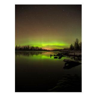 Big Dipper Aurora Postcard
