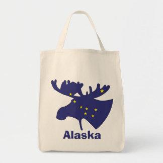 Big Dipper Moose Tote Bags
