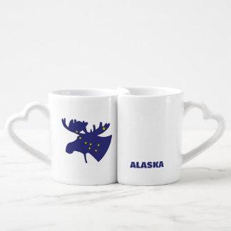 Big DIpper Moose Coffee Mug Set