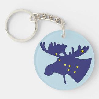 Big Dipper Moose Keychain