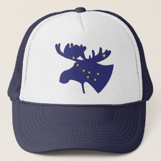 Big Dipper Moose Trucker Hat
