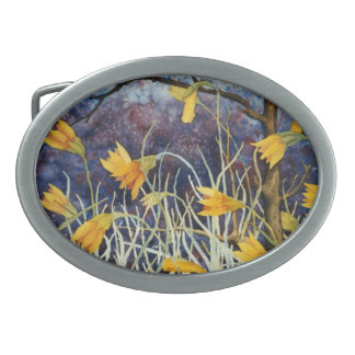 """""""Big Ditch Lilly"""" Floral Belt Buckle"""