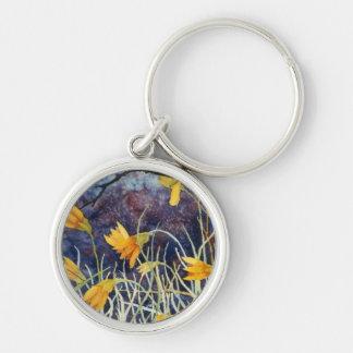 """Big Ditch Lilly"" Floral Keychain"