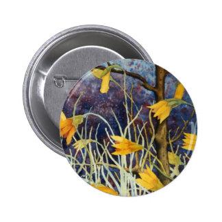 """Big Ditch Lily #2"" Floral Button"