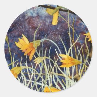 """Big Ditch Lily"" Floral Sticker"