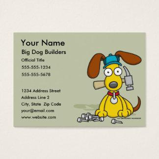 Big Dog Builders Business Cards