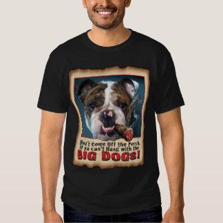 BIG DOG  BULL DOG BLK T T-Shirt