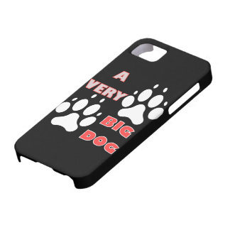 Big dog funny iPhone SE/5/5s case