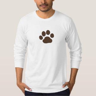 Big Dog Paw Print T-Shirt