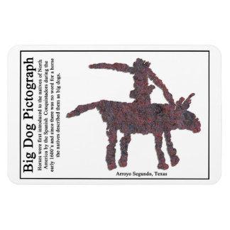 Big Dog Pictograph Magnet