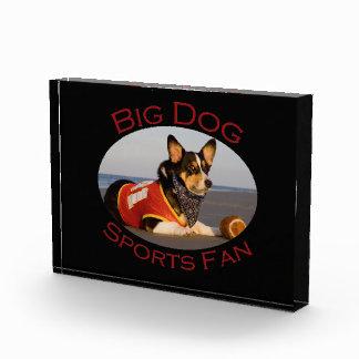 Big Dog, Sports Fan Acrylic Award