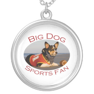 Big Dog, Sports Fan Personalized Necklace
