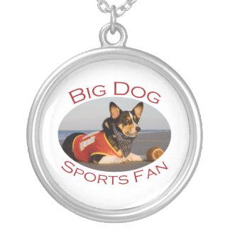 Big Dog, Sports Fan Personalized Necklace