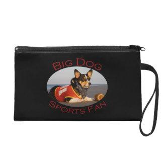 Big Dog, Sports Fan Wristlet Purse
