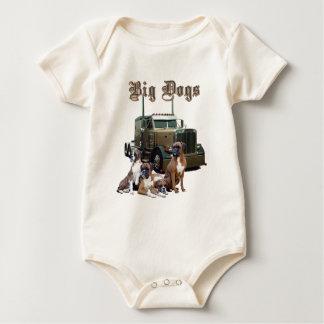 Big Dogs Baby Bodysuit