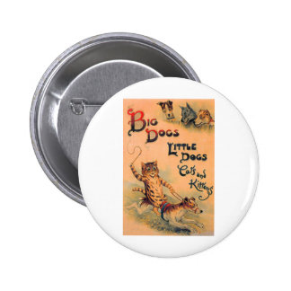 Big Dogs Little Dogs 2 Inch Round Button