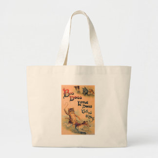 Big Dogs Little Dogs Tote Bag