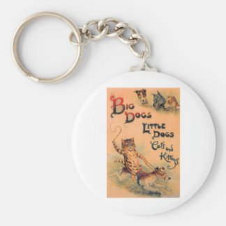 Big Dogs Little Dogs Keychain