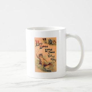 Big Dogs Little Dogs Classic White Coffee Mug
