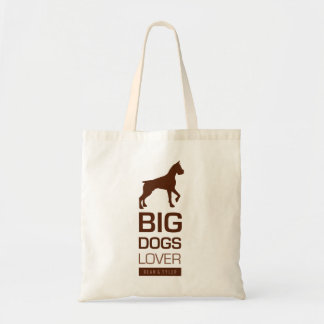 Big Dogs Lover Canvas Bag