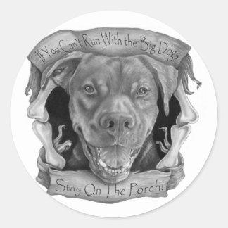 Big Dogs Sticker