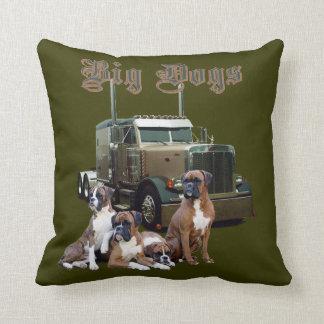 Big Dogs Throw Pillow
