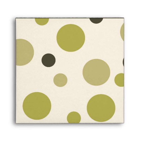 Big Dots Envelope Square