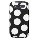 Big Dots in Black and White. Galaxy S3 Cases