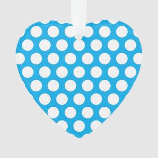 Big Dots on Blue Design