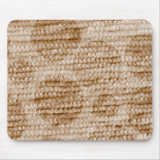 big dotted chenille,beige mouse pad