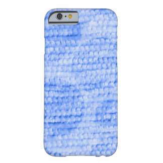 big dotted chenille,blue barely there iPhone 6 case