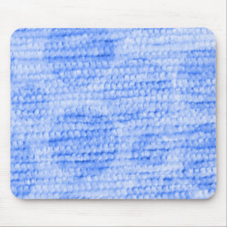 big dotted chenille,blue mouse pad