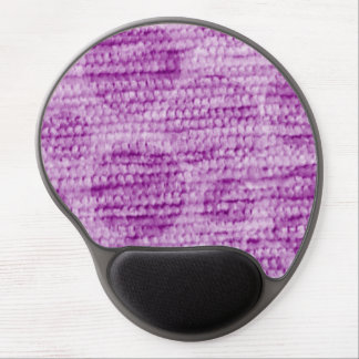 big dotted chenille,pink gel mouse pad