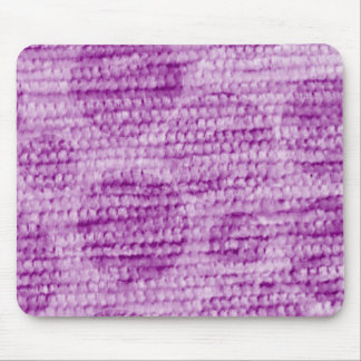 big dotted chenille,pink mouse pad