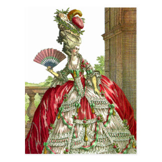 Big Dress Big Hair Postcard