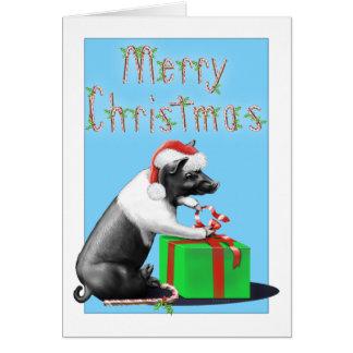 Big Duke's Christmas Greeting Card