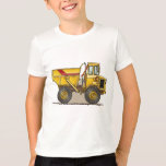 Big Dump Truck Boys T-Shirt