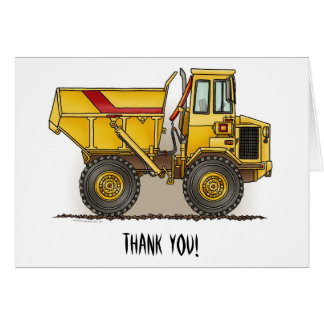 Big Dump Truck Greeting Cards