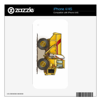 Big Dump Truck Decal For The iPhone 4S