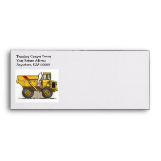 Big Dump Truck Envelope
