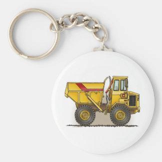 Big Dump Truck Key Chain
