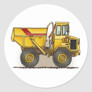 Big Dump Truck Sticker