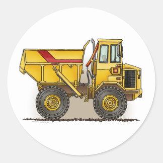 Big Dump Truck Sticker