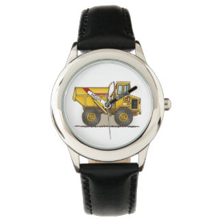 Big Dump Truck Wrist Watch