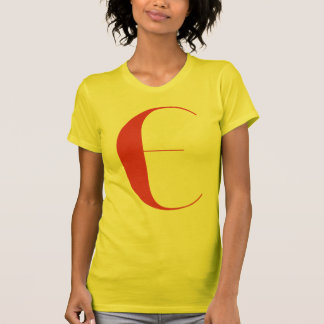 Big E: Jeanne Moderno Lettres T-Shirt