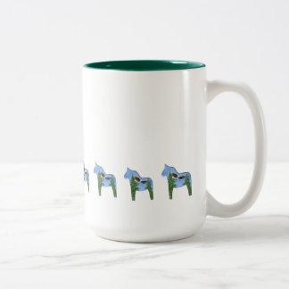Big Eagle Dala Horse Coffee Mug