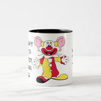 Big Eared Clown Ceramic Mug