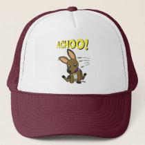 Big eared doggy trucker hat