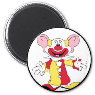 Big Ears Clown 2 Inch Round Magnet