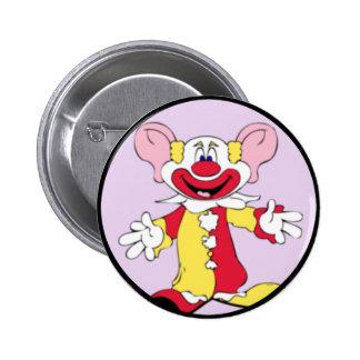 Big Ears Clown Button